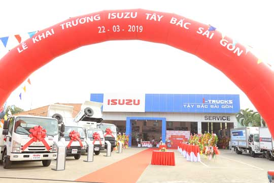 Opening ceremony of Isuzu Tay Bac Sai Gon (03/2019)