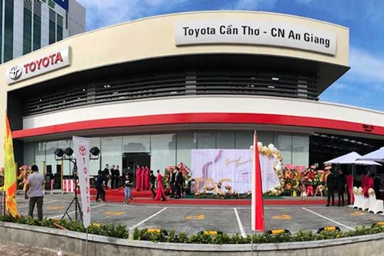 Opening Toyota An Giang (September 2019)